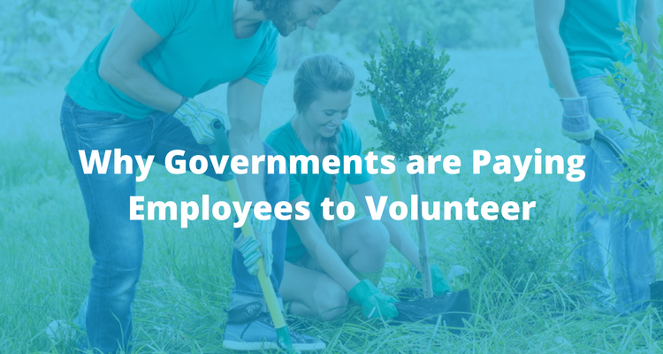 Why Governments are Paying Employees to Volunteer