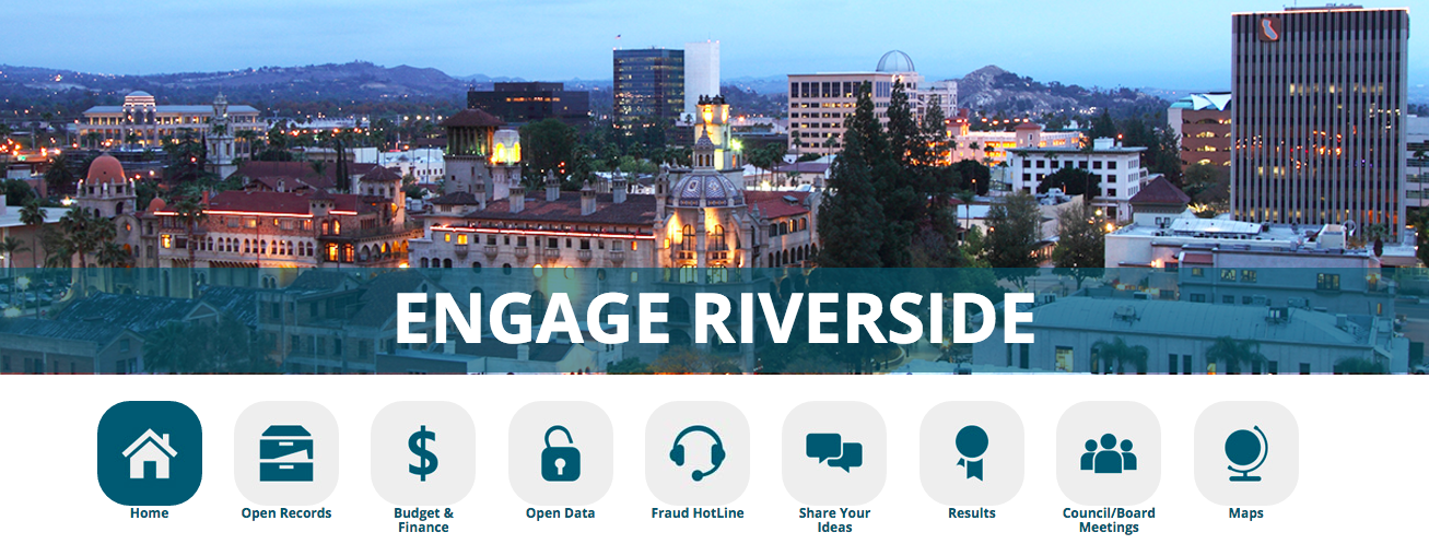 City of Riverside's customer-centric website design