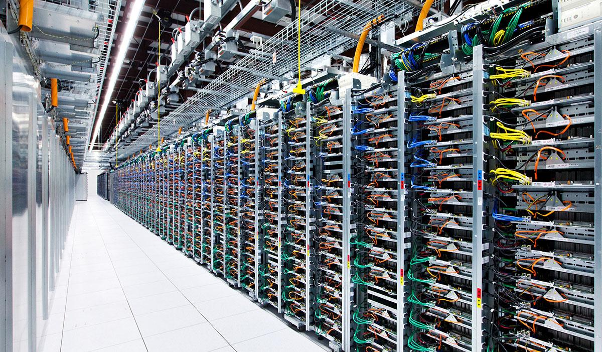 Google's Server rooms
