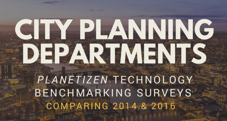 City Planning Departments Technology Benchmarking Surveys