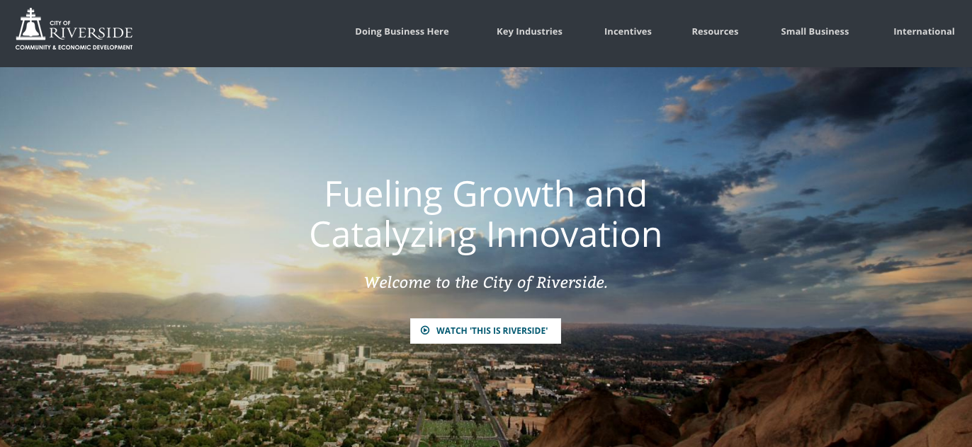 Riverside Community Development Modernizing Citizen Services - Website
