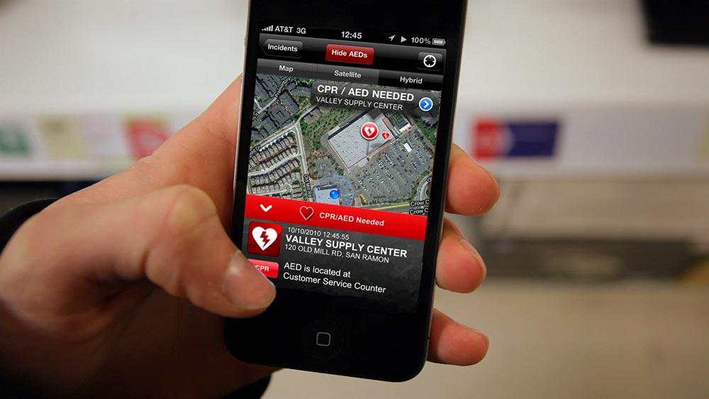 San Ramon, CA Fire Department Open Source CPR App