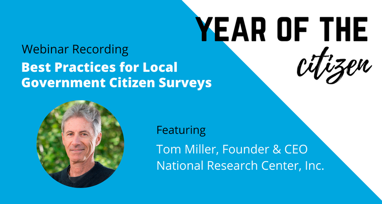 Best Practices for Local Government Citizen Surveys | Year of the Citizen | ViewPoint