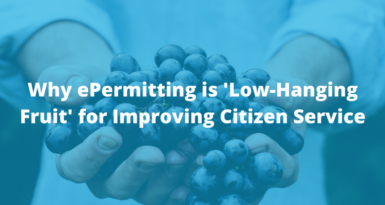 Why ePermitting is Low-hanging fruit for improving citizen service