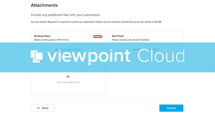 Introducing Required Attachments | ViewPoint Cloud