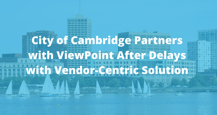 City of Cambridge, MA Partners with ViewPoint