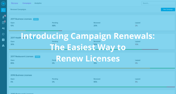 ViewPoint Cloud | Introducing Campaign Renewals