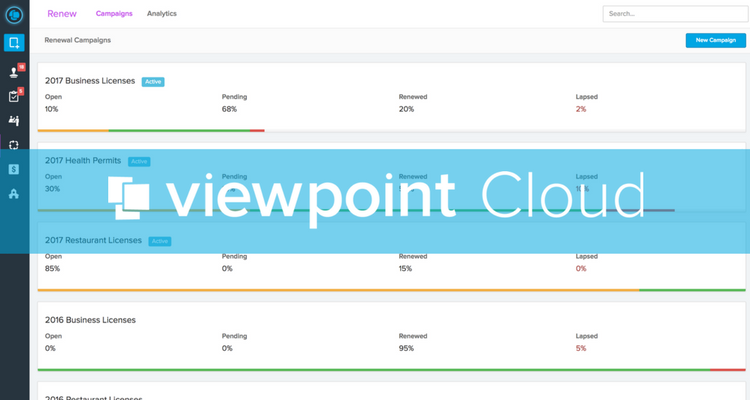 Introducing Campaign Renewals | ViewPoint Cloud