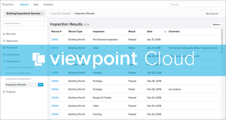 Introducing Reports in ViewPoint Cloud 3